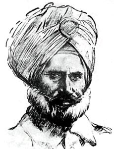 Hav. Isher Singh, commanded the Saragarhi post