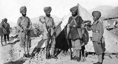 The 36th Sikhs were raised in 1887 at a time when Russian expansion was feared and the North-West Frontier needed strong fortification. Their brief history is notable for one action that ocurred in 1897